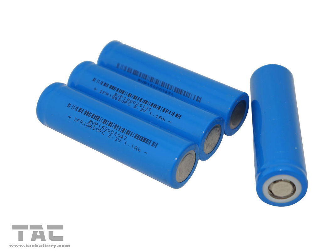 Rechargeable Li-ion IFR18650 3.2V LiFePO4 Battery for E-bike Battery Pack