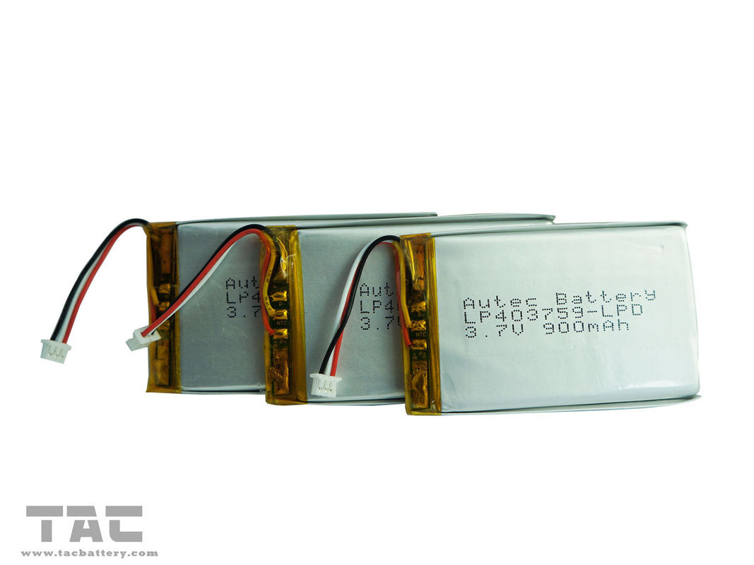 Lipo Battery Pack 3.7V 1.3AH Battery With Wire and Connector for  Massager