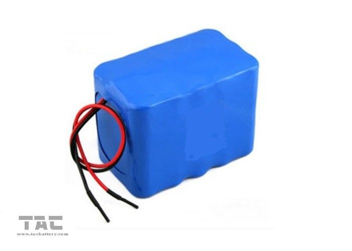 4500mah 12V LiFePO4 Battery Pack IFR18650 For Solar UPS With Connector