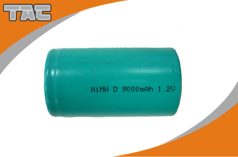 Ni MH Batteries Long Cycle Life 1.2V 9000mAh Nickel Metal Hydride Rechargeable Battery